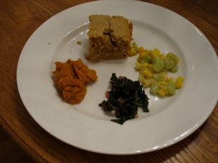 Wampanoag-inspired Thanksgiving Meal