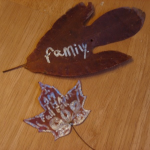 Gratitude Leaves for the Thankfulness Tree