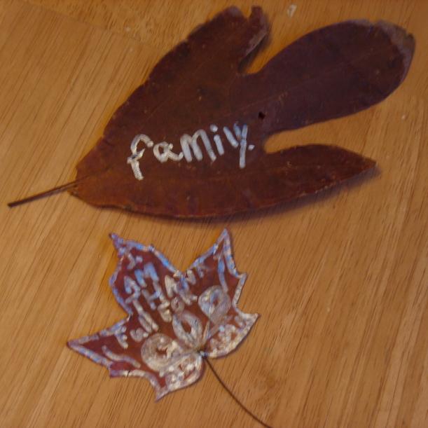 Thankfulness Leaves
