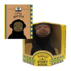 GorillaToy&BookSet