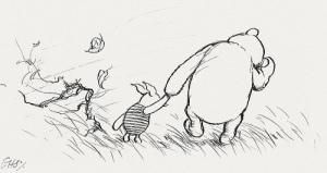 Piglet & Pooh sketch